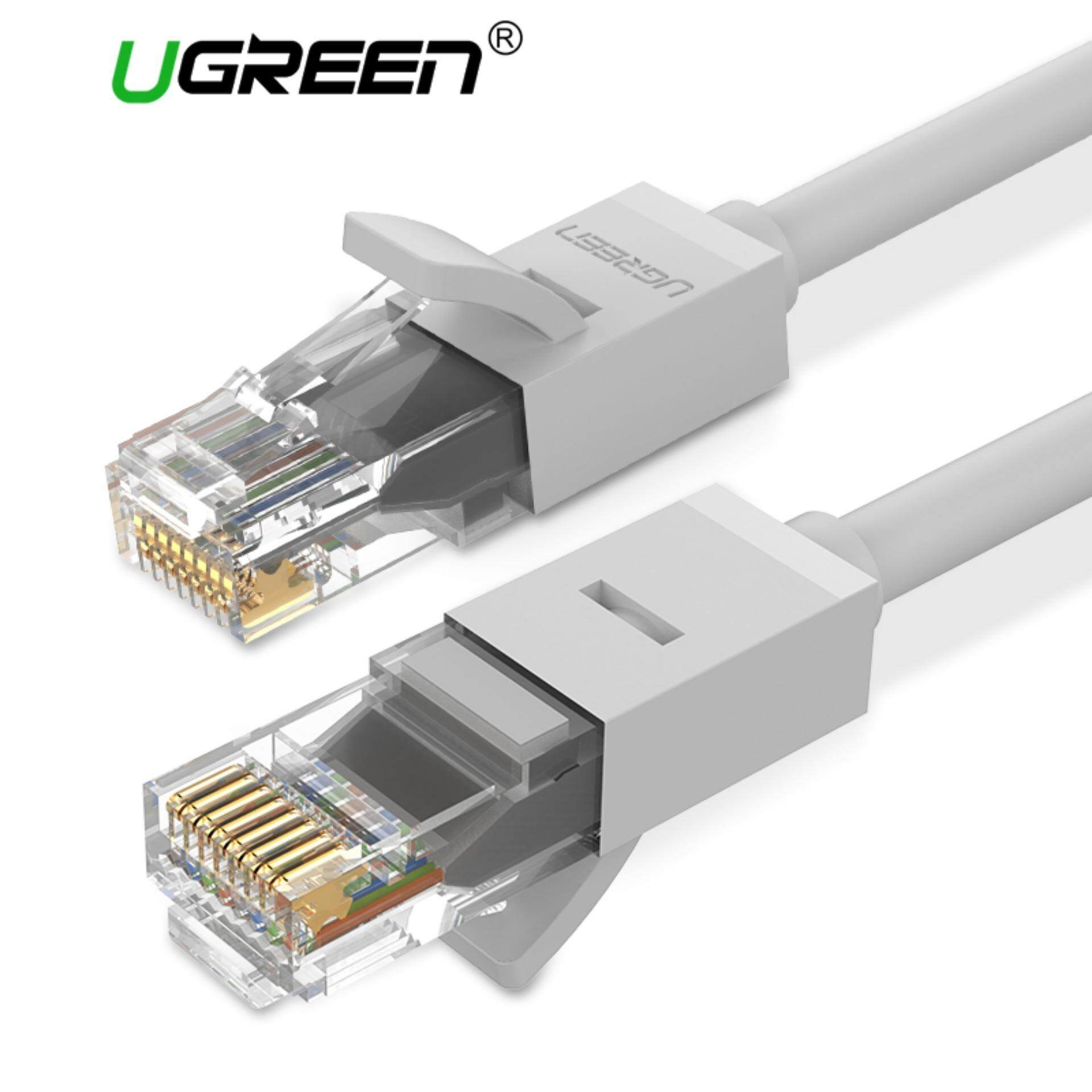 Computer Laptop Ethernet Cables For The Best Prices In Malaysia Cat6 Gigabit Wiring Ugreen 05 Meter Patch Cable Rj45 Network Wire Lan Plug Connector