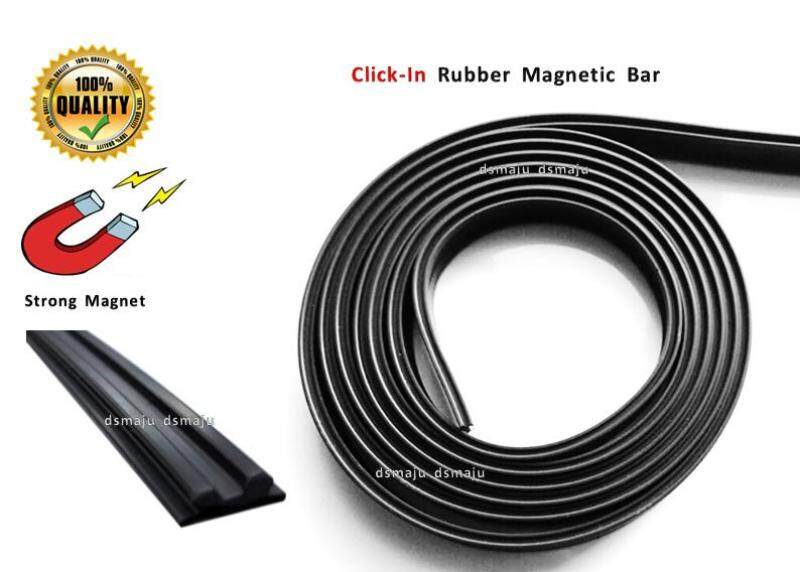 Click In Magnetic Bar Insect Screen Magnet Mosquito Frame Magnet Insert Click Rubber Magnet 卡槽磁条