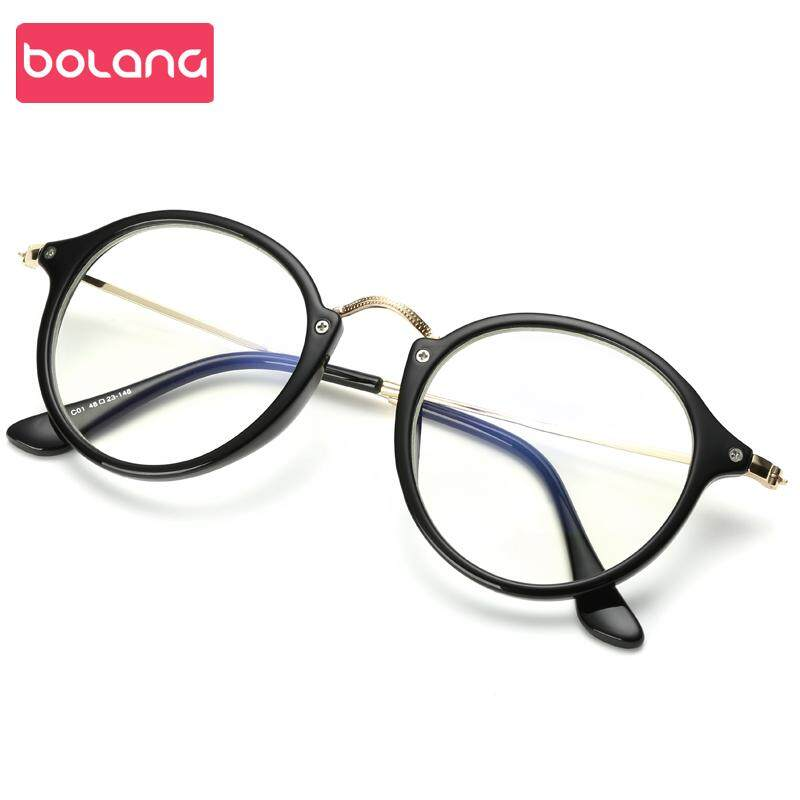 9b155f67d3 Glasses Frame Female Korean Style Fashion Vintage Eyeglasses Fixing Device  Radiation Protected Full Frame Eyes Big