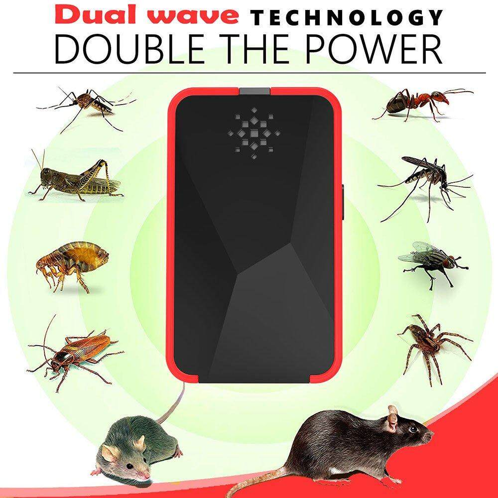 Home Electric Insect Killers Buy At Killer Mosquito Lamp Driver Board Circuit Chux Uk Plug Electronic Ultrasonic Pest Repeller Repellent Anti Rode Rejector Mouse
