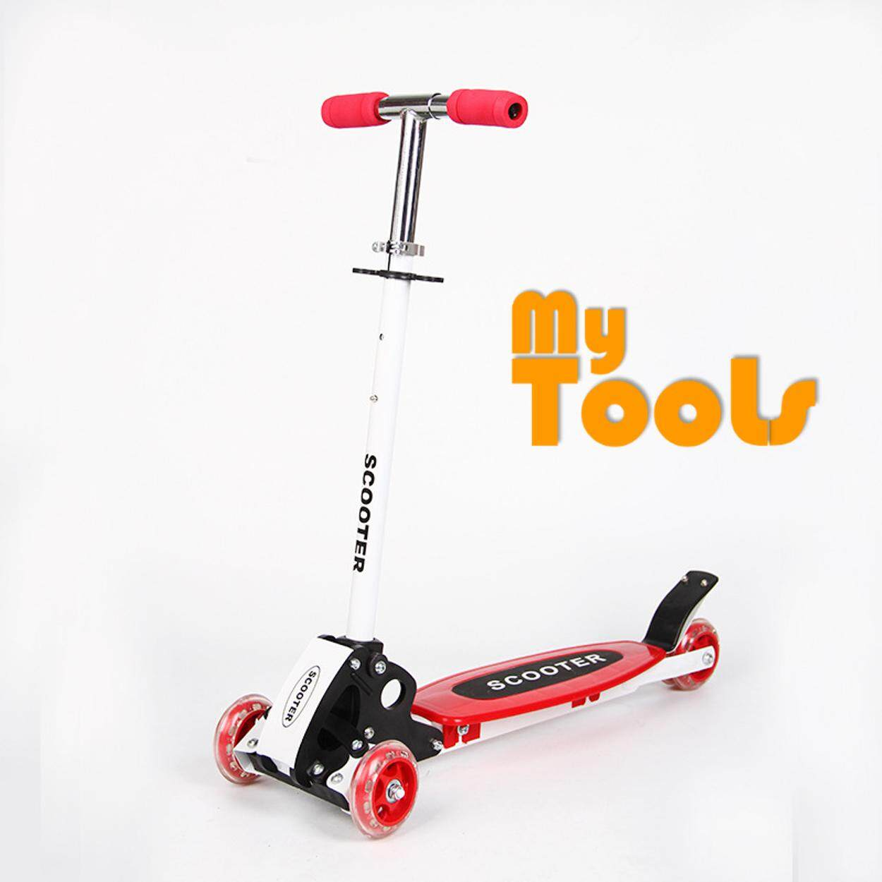 Foldable And Adjustable Kids Kick Scooter By Mytools Marketing.