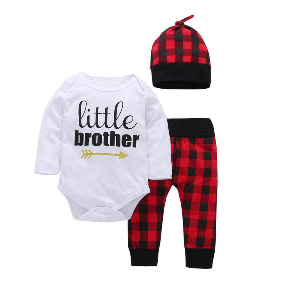 Easy Fun Newborn Baby Boy Clothes Cute Baby Boys Clothing Autumn Long-sleeved  Letter Bodysuit 6795950312d7