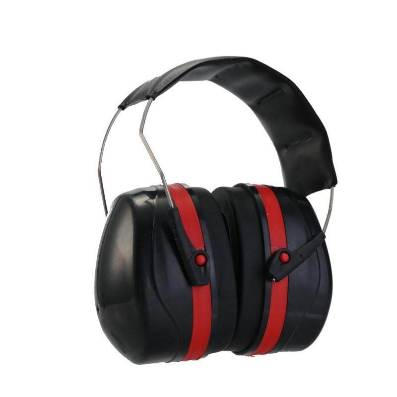 Shooting Hunting Tactical Headset Ear Protector Anti-noise Hearing Ears Protection Noise Reduction with Leather Headband