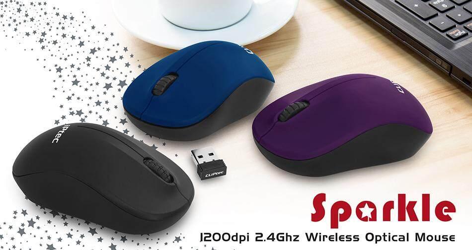 CLiPtec SPARKLE 1200dpi 2.4GHz Wireless Mouse RZS853 Malaysia