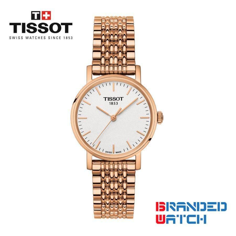 Tissot Watches Price In Malaysia Best Lazada Jam Tangan Qampampq Vr 42 Rubber Oranye Original T1092103303100 Womens Everytime Small Quartz Rose Gold Steel Watch