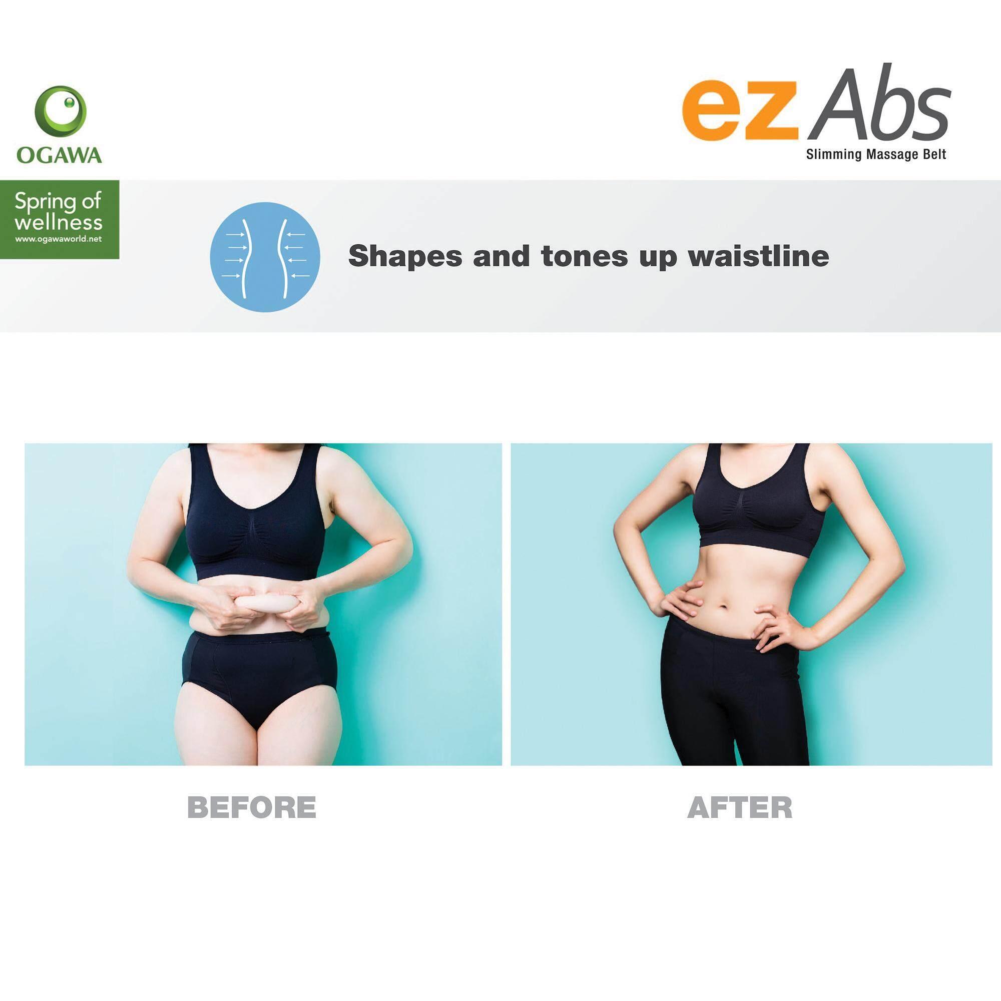 OGAWA Ez Abs Massage Slimming Belt