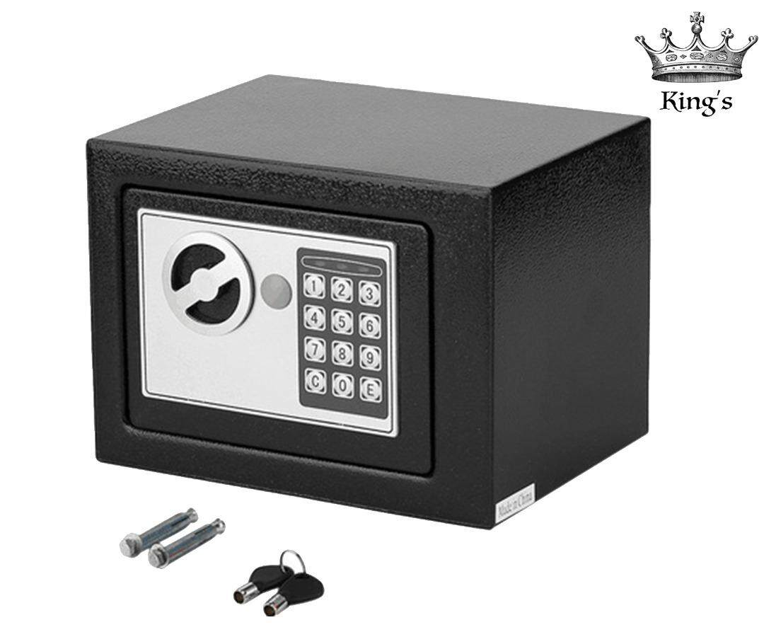 Personal / Home / Office Safe Digital Safety Box Security Box to Keep Cash  Jewelry Documents Securely Fire Drill Resistant
