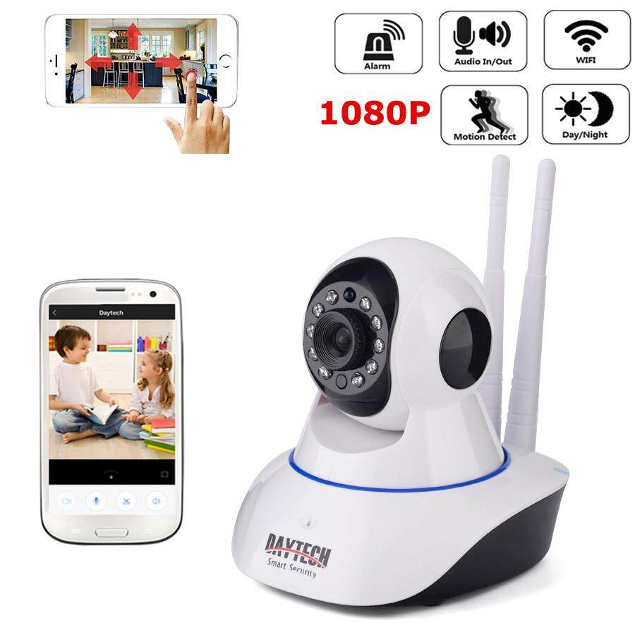 Daytech Ip Camera 1080p Hd Wireless Camera Indoor Wifi Cctv Two Way Audio Ir Cut Night Vision Yoosee Phone Control(dt-C101a-1080p) By Daytech Official Store.