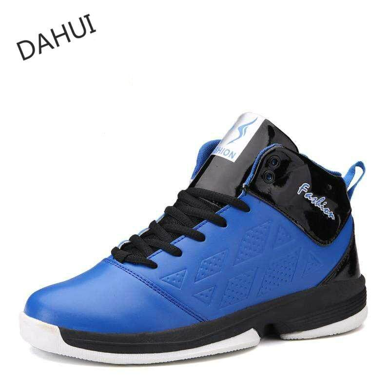 Men s Basketball Shoes Rubber Basketball Boots Shock Absorption Breathable  Shoes Athletic Sport Sneakers For Basketball ( f103ab0c288
