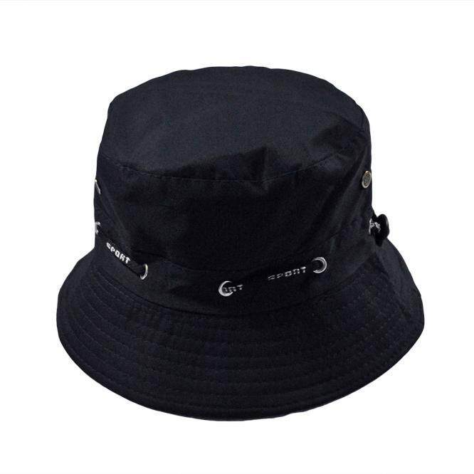 c12935a6ed0 Men Women Unisex Cotton Bucket Hat Double Side Fishing Boonie Bush Cap  Visor Sun
