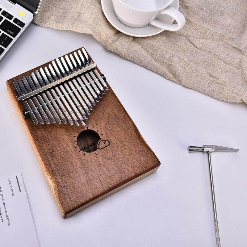 BELLE 17 Keys Kalimba African Solid Mahogany Wood Thumb Piano Finger Percussion Malaysia