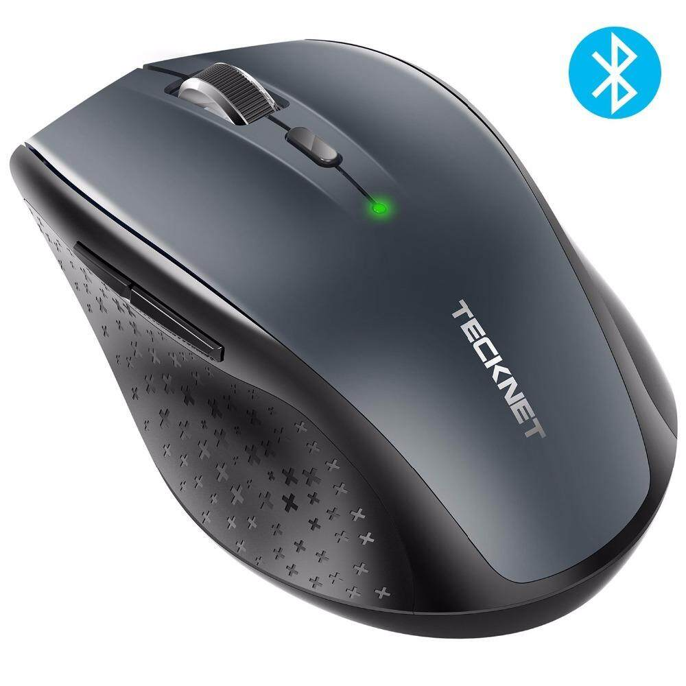 TeckNet Bluetooth Wireless Mouse 2 4G / 2600/2000/1600/1200/800 DPI For  Laptop Notebook PC computer