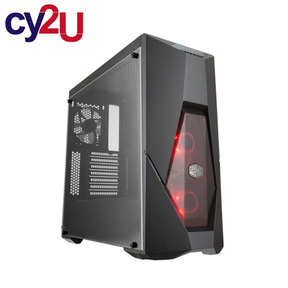 Cooler Master MasterBox K500L ATX Gaming Case with Red LED Fans & Lighting Accents Malaysia