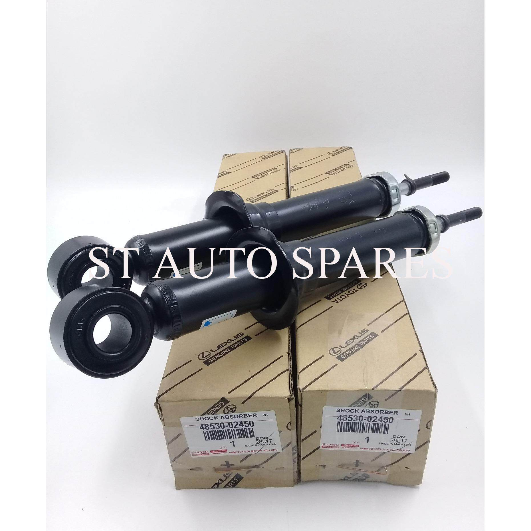 Toyota Auto Parts Spares Price In Malaysia Best 1997 Camry Fuel Filter Location Altis Zze121 Zze122 2001 2008 Rear Absorber Set Left Right 48530 02450