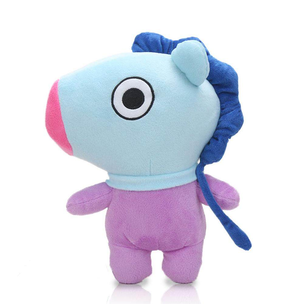 c7424f32b1d FC Kpop BTS BT21 Bangtan Boys Plush Cushion Stuffed Toy Dolls TATA COOKY  CHIMMY SHOOKY MANG