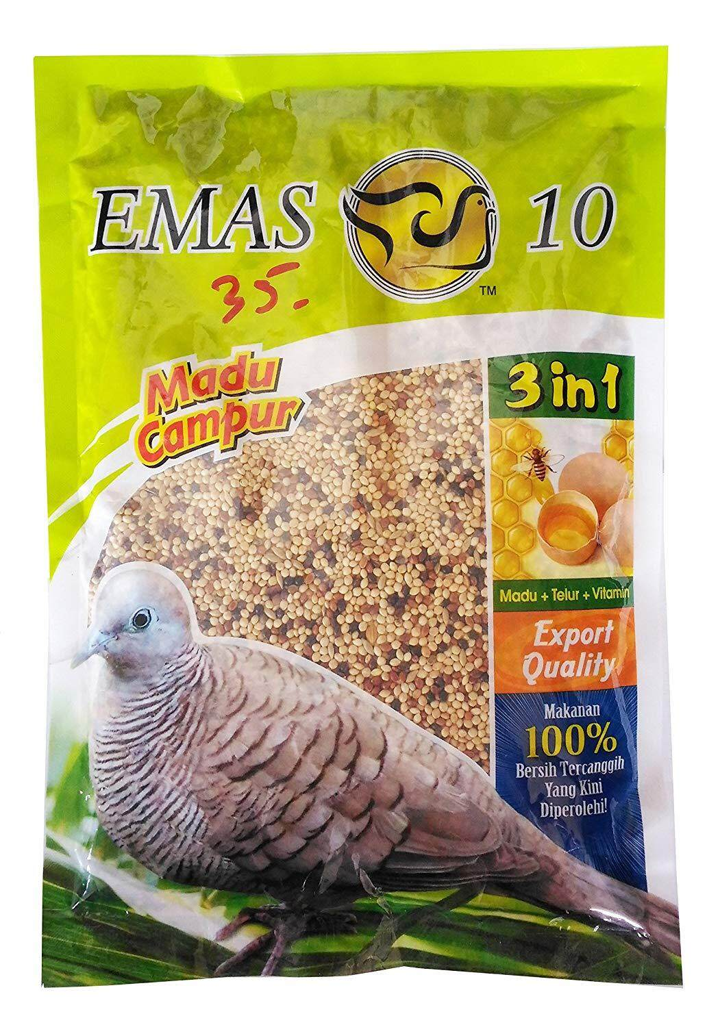 Emas 10 Natural Birds Feed Code 3122 300g By Irene Aquarium & Pet Saloon.