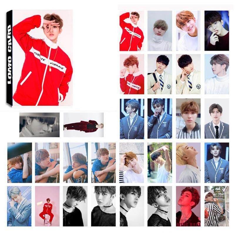 Linfang 30pcs /set NINE PERCENT KUN Photo Card Poster Lomo Cards
