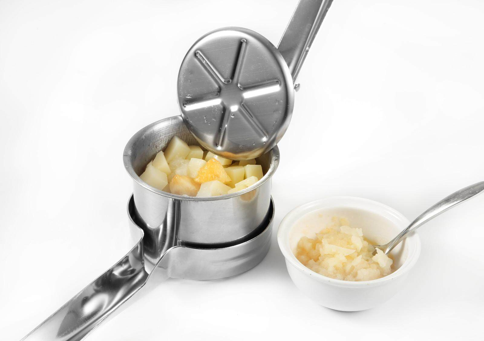 Priority Chef Potato Ricer and Masher 430Stainless Steel Fruit Veget Press Maker