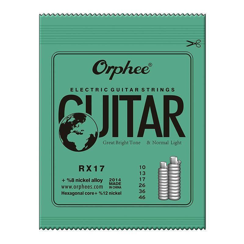 YANYI 6 Pcs Guitar Strings RX15/RX17/RX19 Electric Guitar Strings Super Light Malaysia