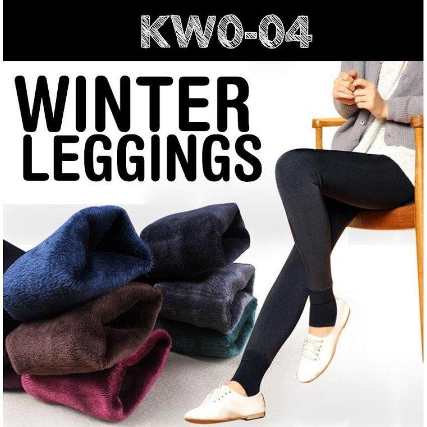 Women Winter Leggings / Keep Warm/ Inner Wear/ Women Pants /plus Size By Botato.