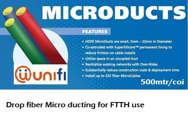 Microduct for Drop Fiber Unifi (500M)