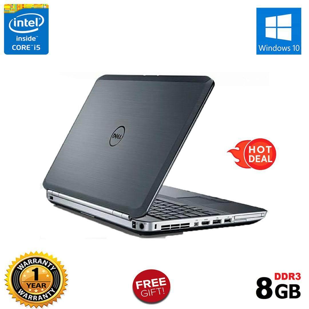 DELL LATITUDE E5530 BUSINESS EDITION - CORE i5 / 8GB RAM / 320GB HDD / 15.6 INCHES / 1 YEAR WARRANTY / FREE BAG Malaysia
