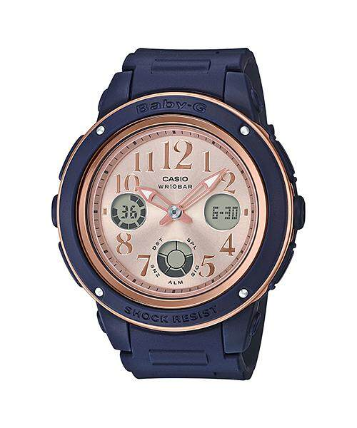 Casio Baby-G Special Color Models BGA-150PG-2B1 Womens Watch (Navy Blue) Malaysia