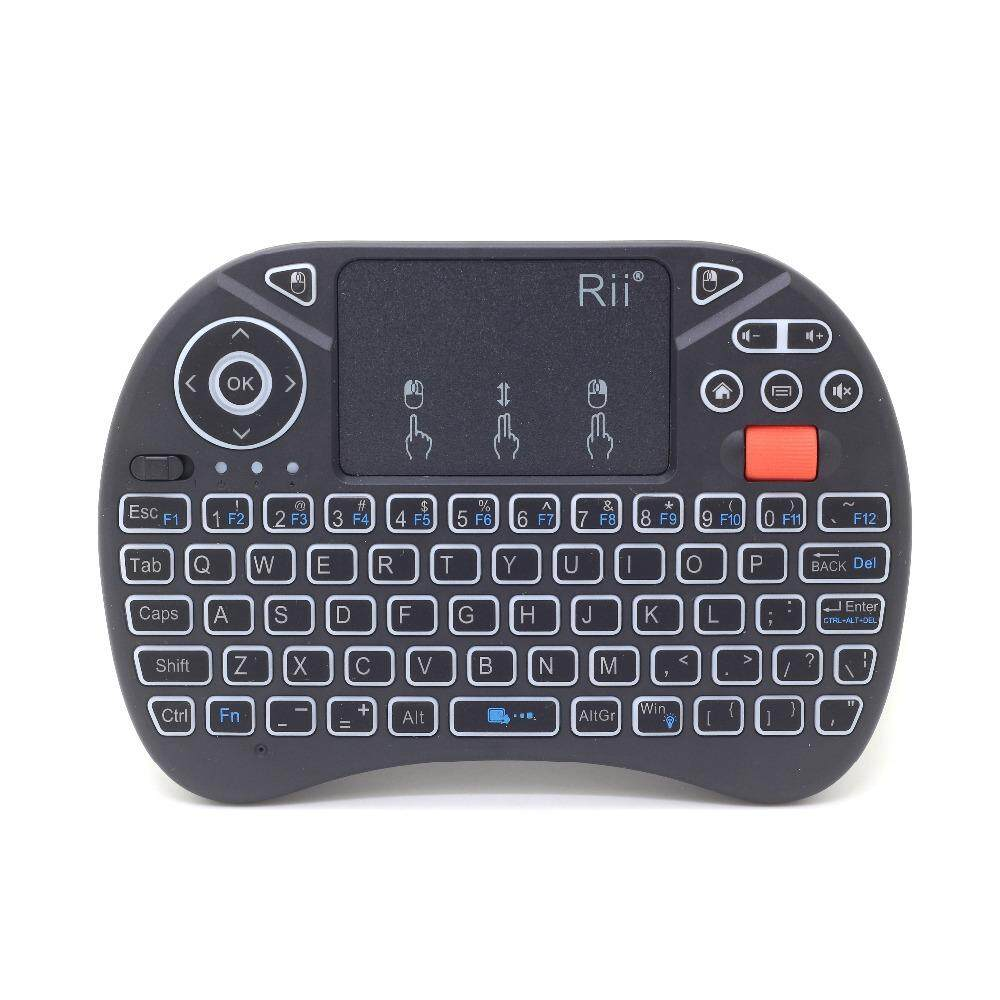 Original Rii i8x Mini 2.4G Wireless Keyboard Air Mouse with Touchpad for Android TV box