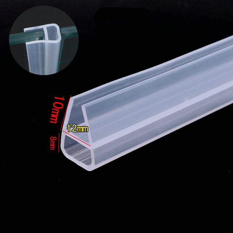 Collision Avoidance Weather Strip Sliding Door Window Screen Seals for 12mm Thick Glass 5 Meters Transparent
