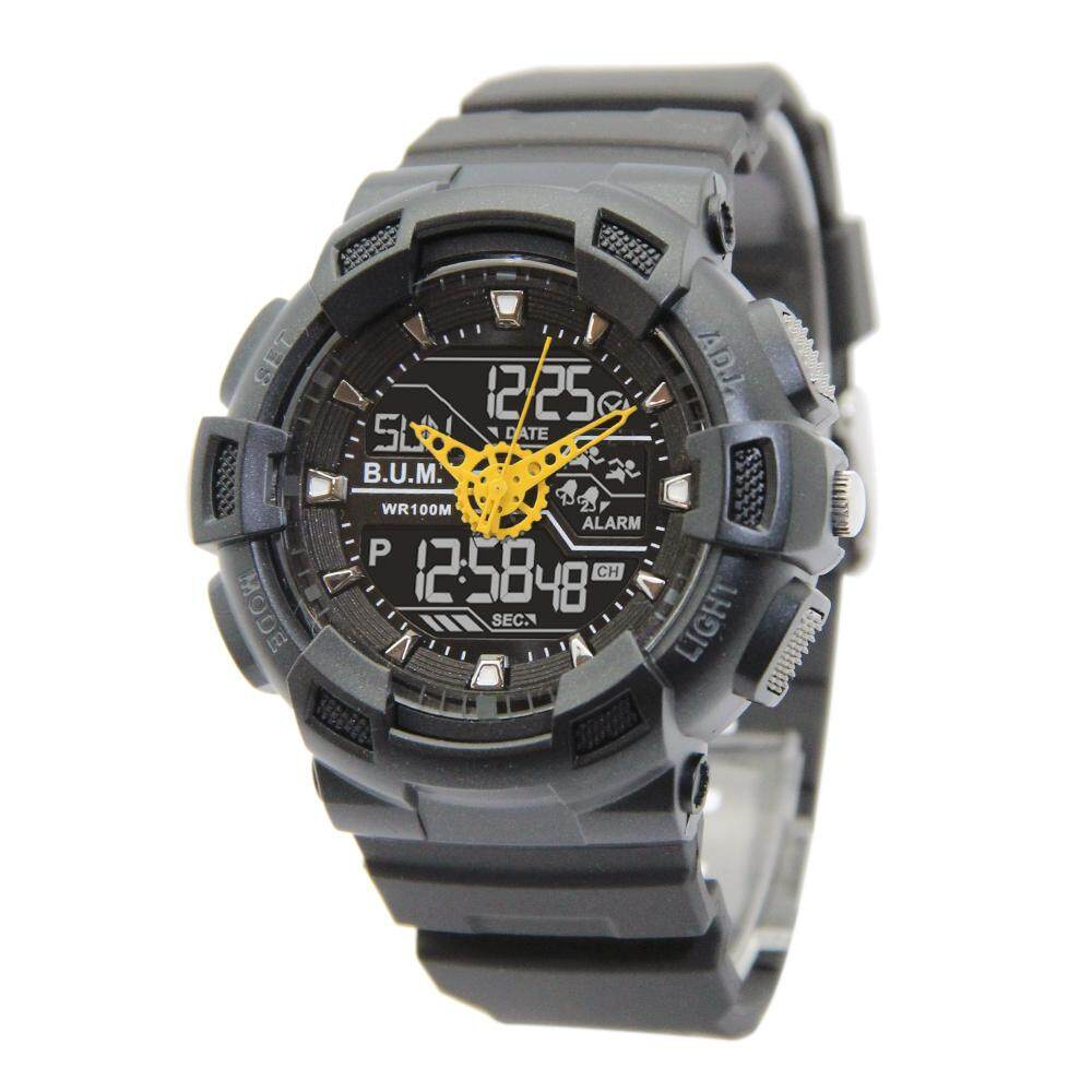 B.U.M. Equipment outdoor analog digital chronograph man sport casual watch model B902 Malaysia