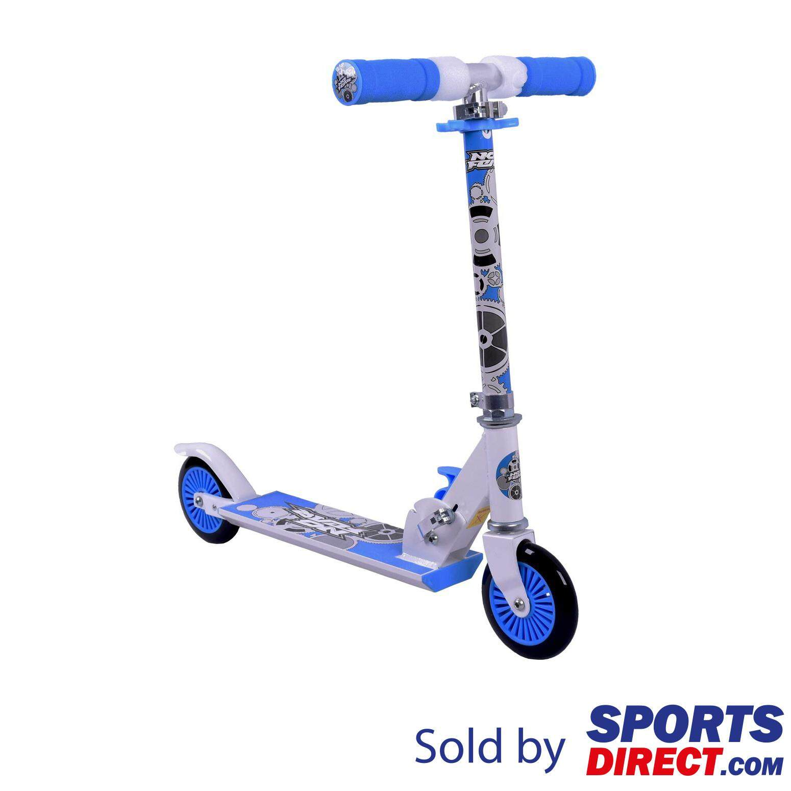 No Fear Kids Scooter (black/blue) By Sports Direct Mst Sdn Bhd