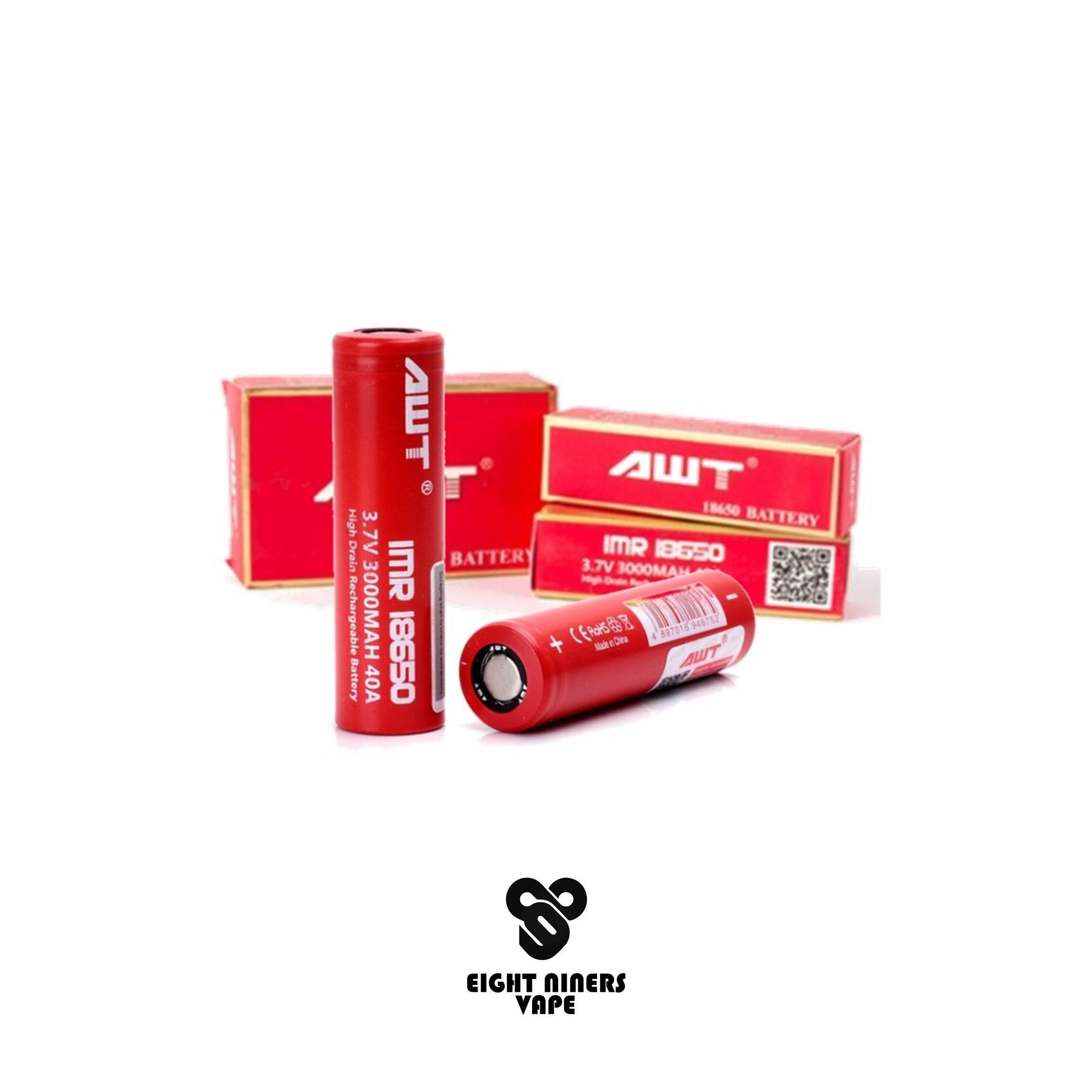 Original AWT IMR18650 3000MAH · Rechargeable Battery ·