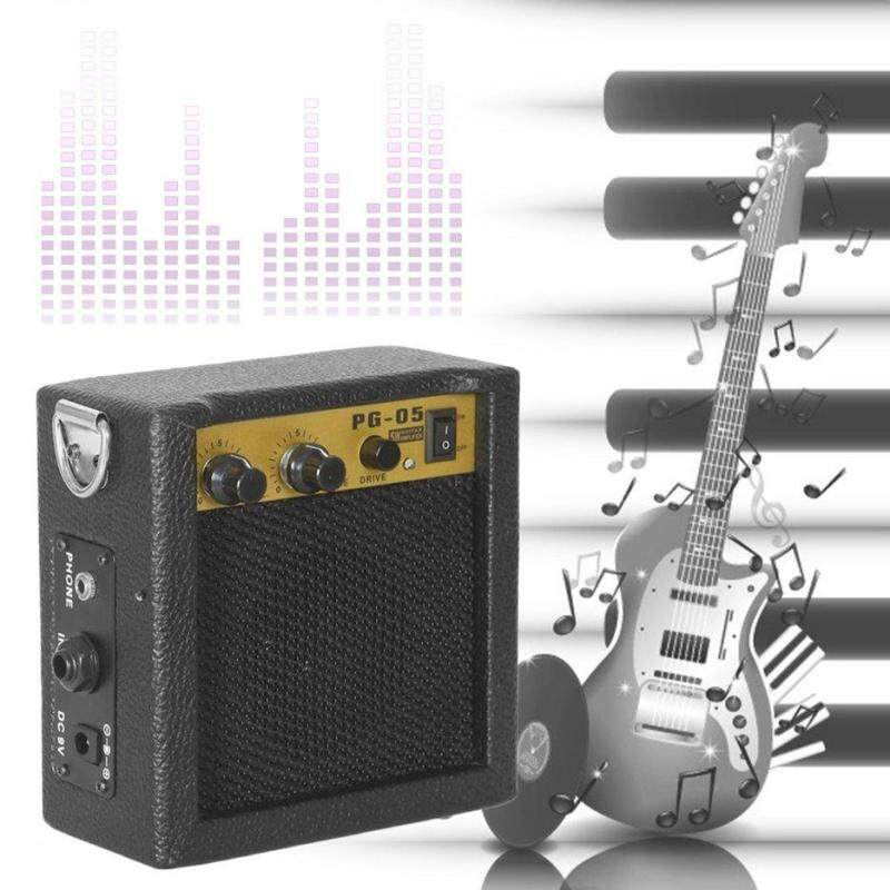 BELLE E-WAVE PG-05 5W Portable Guitar Amplifier Guitar Amp With 3 Inches Speaker black Malaysia