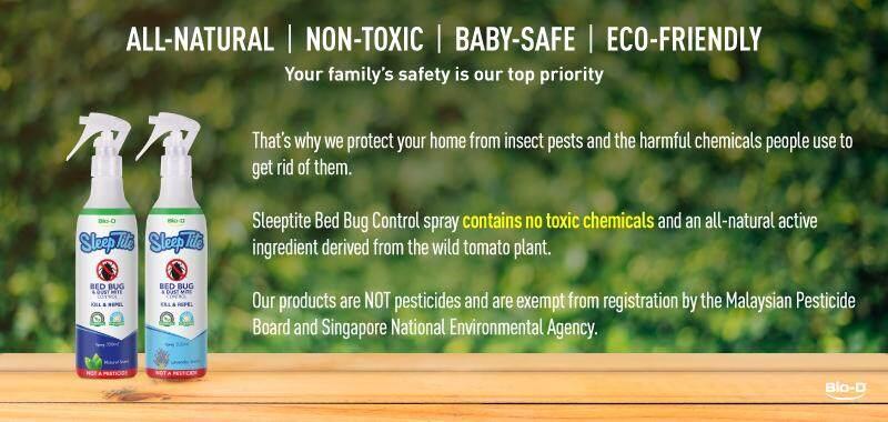 Bio D Sleeptite Bed Bug Dust Mite Control 300ml Spray Natural