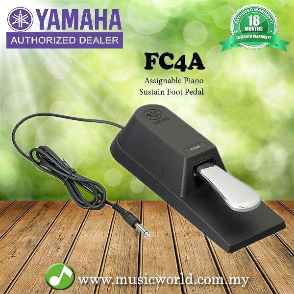 Yamaha FC4A Sustain Foot Pedal with 6 Inch Cable / Foot Switch (FC-4A) Malaysia