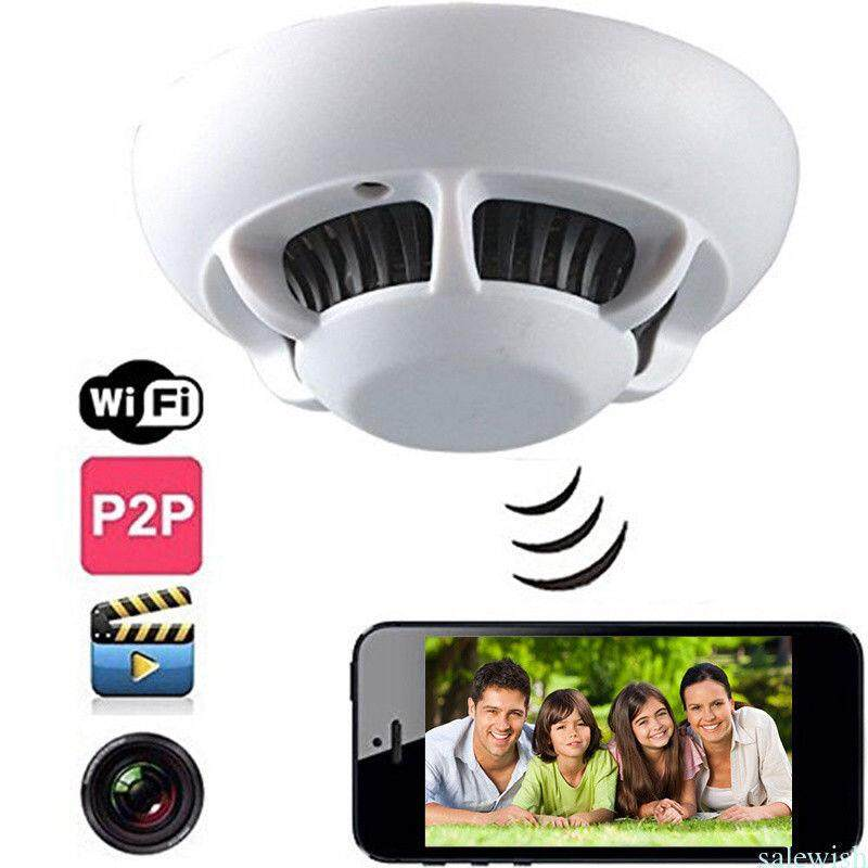 Ufo Wifi Spy Hidden Wireless Ip Camera 1080p Smoke Detector Surveillance Camera Video Recorder By Digitalzone Sales And Services Plt.