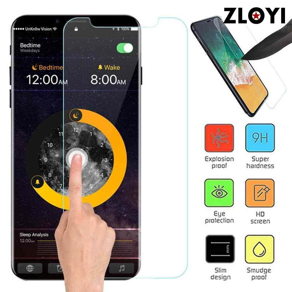 Zloyi 2pcs For Iphone Xs Dustproof Anti-Fingerprint Tempered Glass Clear Premium Hd Film By Zloyi.