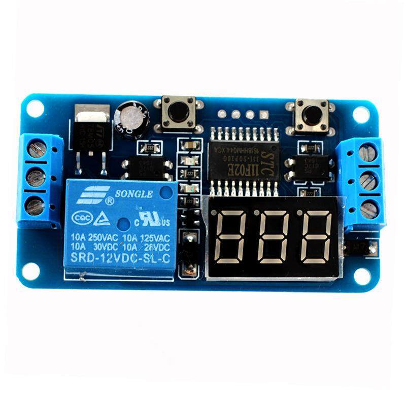 DC 12V LED Digital Delay Switch Timer Switch Automatic Control Relay