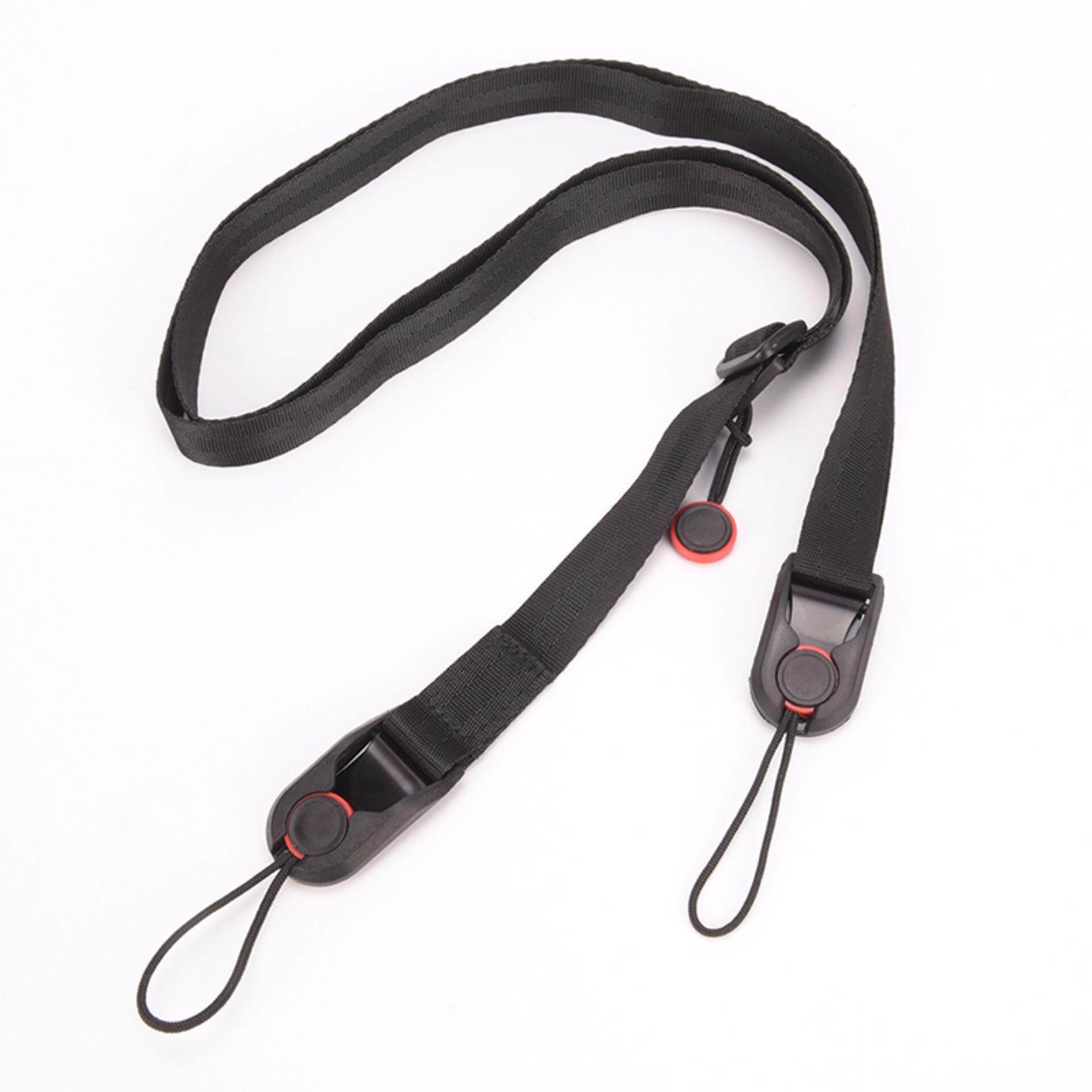 Quality Quick Release Camera Cuff Wrist Strap+Leash Shoulder Strap Sling