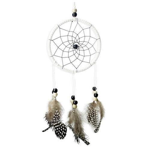 Handmade White Dreamcatcher 30 Cm Dreamcatcher Hanging Ornament By Shakeshake.