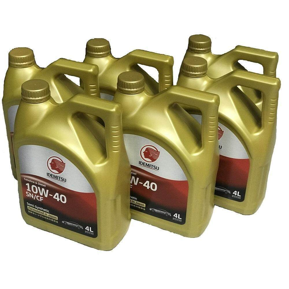 VALUE PACK (6 BOTTLES)-IDEMITSU Extreme 10w40 SN/CF Semi-Synthetic