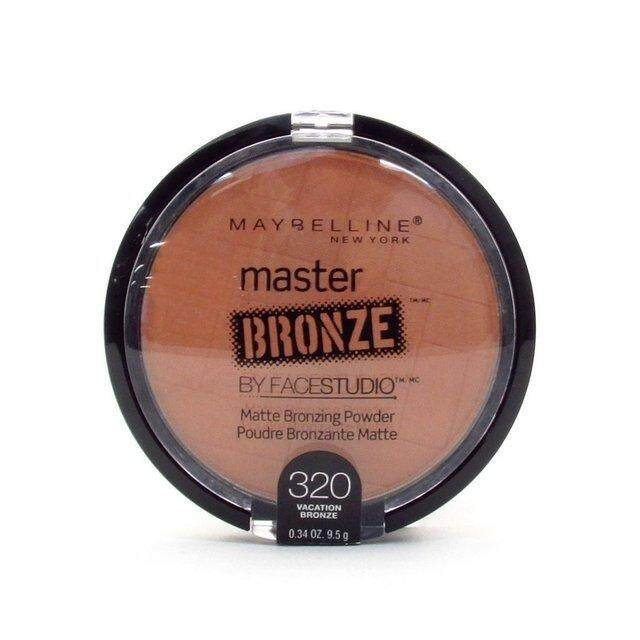 Maybellines Face Studio Master Bronze Matte Bronzing Powder [vacation Bronze 320] By Essential Beauty House