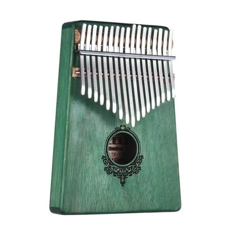 No.1 17 Key Kalimba African solid Mahogany Thumb Finger Piano Musical Instrument Malaysia