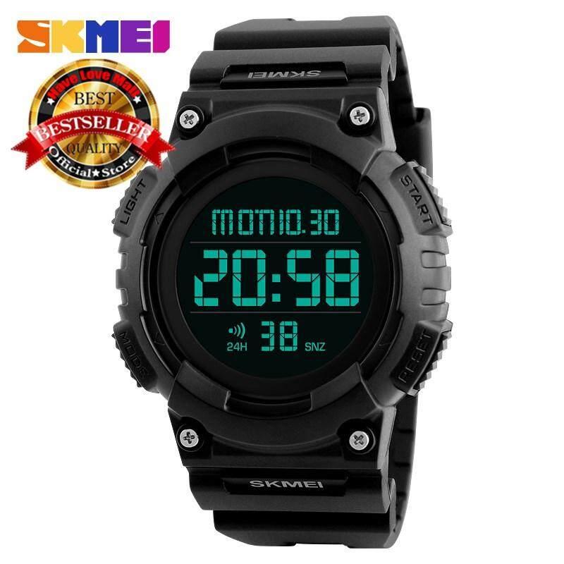 SKMEI Men Sports Watches Waterproof Luxury Brand Fashion Watch Multifunction Alarm Digital Wristwatches Malaysia