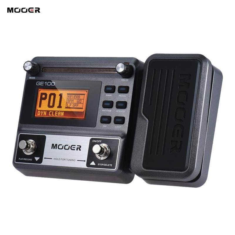 MOOER GE100 Guitar Multi-effects Processor Effect Pedal Functions Outdoorfree EU plug Malaysia
