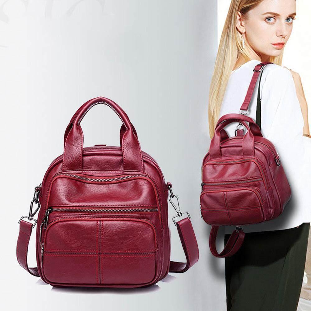 Buyinbulk Women Backpack, Waterproof Pu Leather Shoulder Bag, Casual Bag For Women Girls By Buyinbulk.