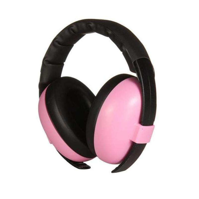Baby Infant Hearing Protection Earmuff Noise Reduction Ear Muffs for 0-24 Months Baby (Pink)