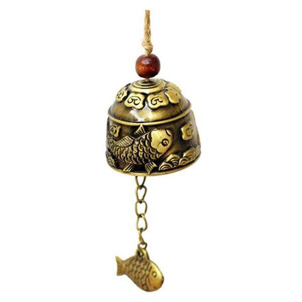 1Pc Chinese Traditional Dragon or Fish Feng Shui Bell Blessing Fortune Hanging Wind Chime
