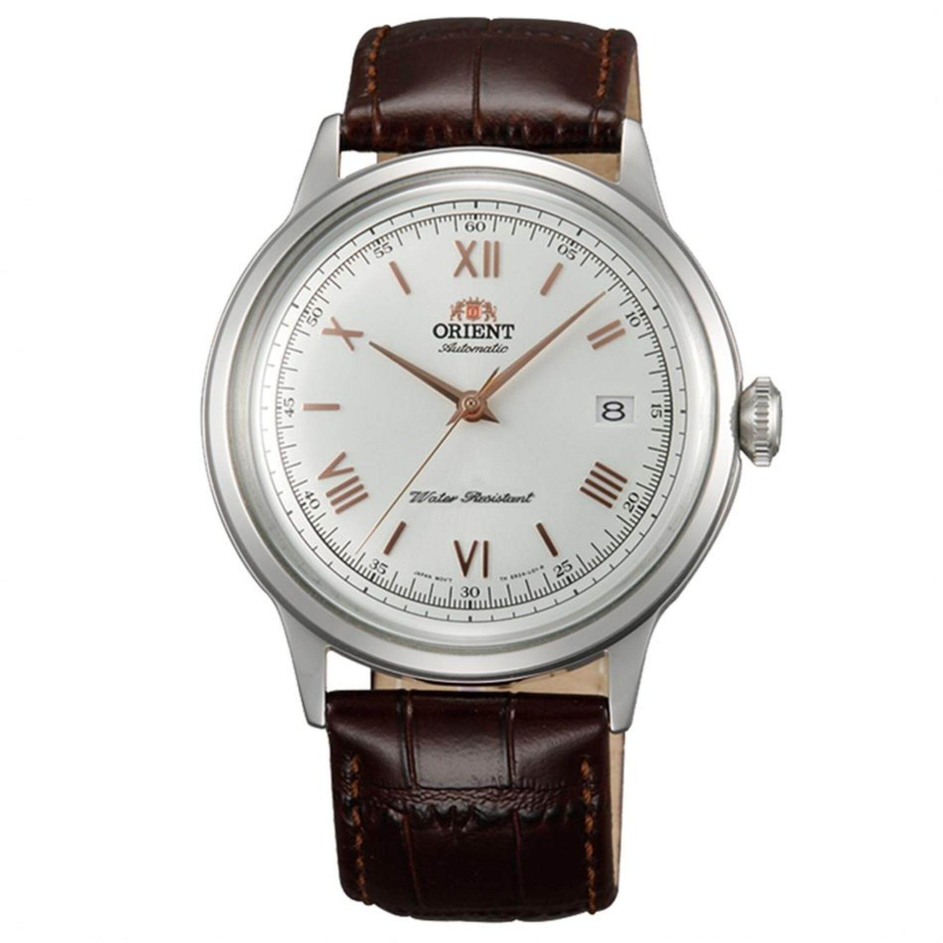 Orient 2nd Generation Bambino Men s Automatic Brown Leather Strap Watch FAC W0