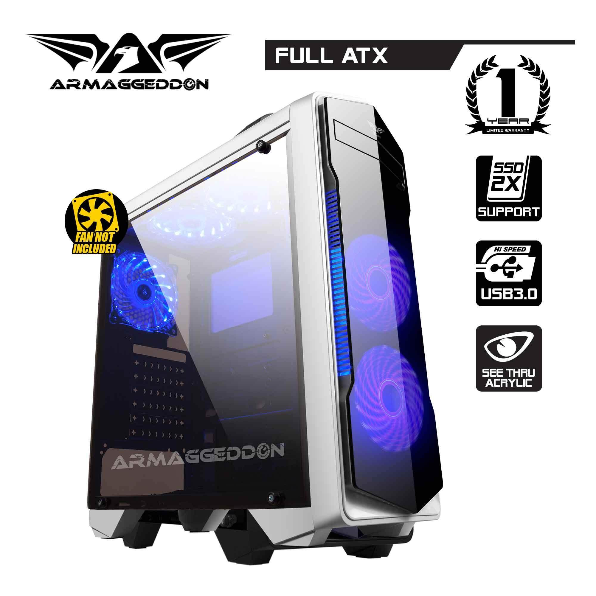 Armaggeddon T5x Pro Full ATX - Smart Gaming Structure PC Chassis Malaysia